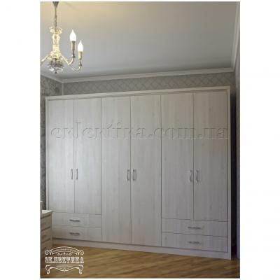 Шкаф Толедо 6 дверей 4 ящика Толедо