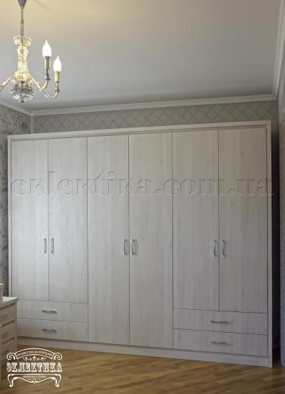 Шкаф Толедо 6 дверей 4 ящика Серия
