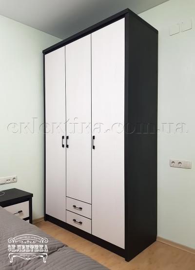 Шкаф Толедо 3 двери 2 ящика Серия