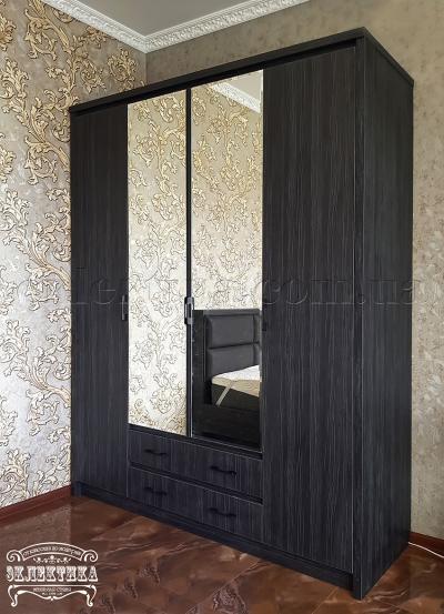 Шкаф Толедо 4 двери 2 ящика Шкафы из дерева Одесса, шкафы под заказ