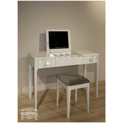 Будуарный стол Домино с зеркалом Домино